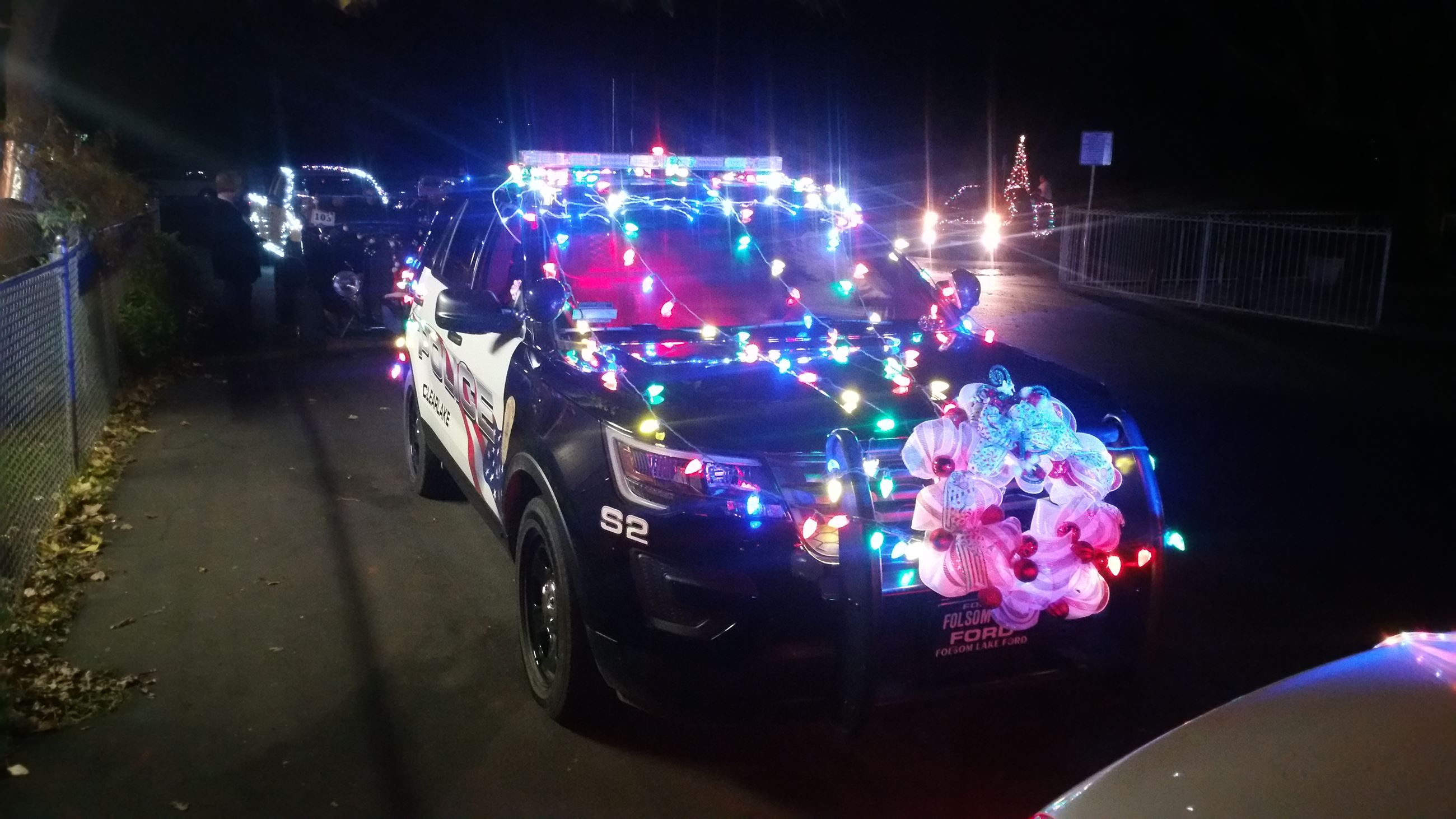 Christmas Parade 2016 Lighted Entry